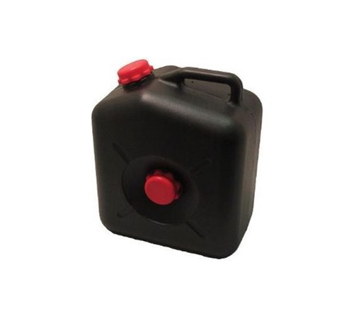 Black Waste Tank with Side Cap - 23 Litres