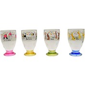 Charlie and Friends Acrylic Tumblers (Pack of 4) - Assorted