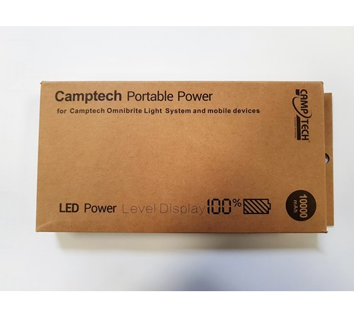 Camptech 10,000mAh Battery Power Bank - SL5012