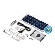 Solar Technology 20W Solar Complete Rooftop Kit