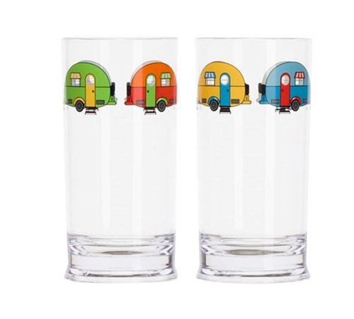 Love Caravanning Tall Tumbler Set
