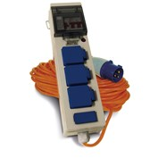 Maypole Mobile Mains Power Unit with Twin USB - 230v 13a