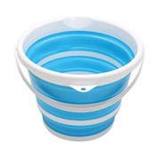 Home+ Collapsible Household 11 Litre Bucket - Blue
