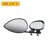 Milenco Aero 3 Towing Mirrors - Flat Twin-Pack