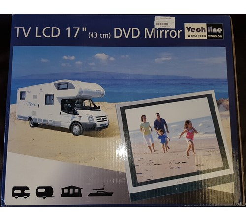 """Vechline 17"""" LCD DVD/TV WIth Built In Mirror"""