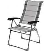 Dukdalf Aspen Aluminium Chair - Grey Stripe