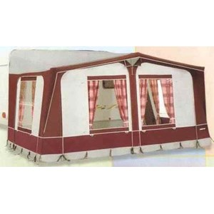 Eurovent Sancerre Full Awning With Fibre Frame Size M - Green