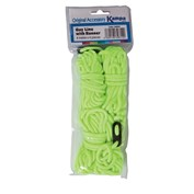 Kampa Fluorescent Guy Line Set - 4 metre x 4 Pack