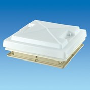 MPK 360 Rooflight Complete With Flynet - White
