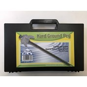 PLS Drill-able Hard Ground Pegs - Box of 20 Pegs