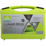 Via Mondo Lunar Glow in the Dark Rock pegs 20 Pack