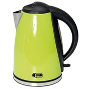 Quest Leisure 1.8L Low Wattage Stainless Steel Green Kettle
