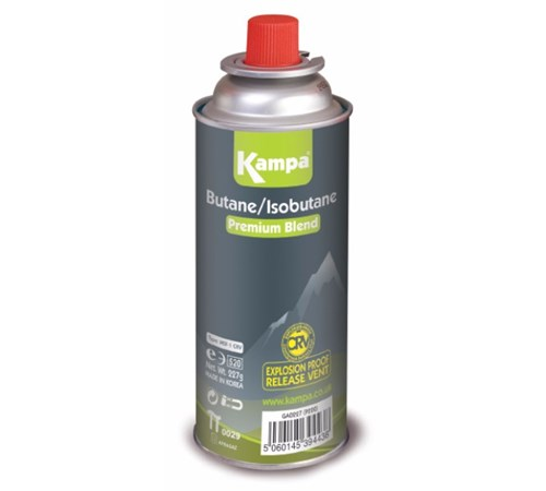 Kampa Butane Camping Gas Cartridges 227g - Pack Of 4