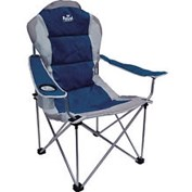 Royal Leisure President Chair - Blue/Silver