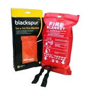 Blackspur Fire Blanket - 1m x 1m