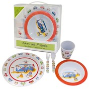 Charlie and Friends - 5pc Childrens Melamine Set