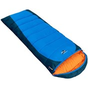 Vango Wilderness XL250 Square Sleeping Bag R/H Zip - Surf Blue/Black