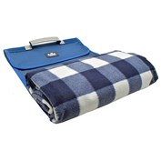 Royal Leisure Roll Up Picnic Blanket With Waterproof Base