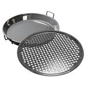 Outdoorchef City Grill Gourmet Set with Universal Frying Pan and Pizza Sheet