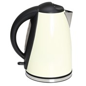 Quest Leisure 1.8L Low Wattage Stainless Steel Cream Kettle