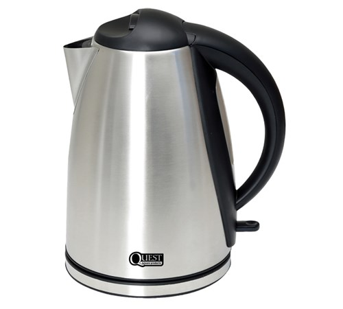 Quest Leisure 1.8L Low wattage Stainless Steel Polished Kettle