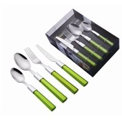 'Colours' 16pc Cutlery Set - Lime