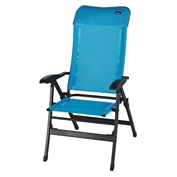 Trigano Alu High Back Chair - Lagoon Blue