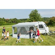 Fiamma CaravanStore ZIP XL 500 Complete Awning - Royal Grey