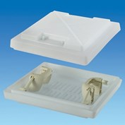 MPK 360 Rooflight Dome With White Handles (Dome Only)