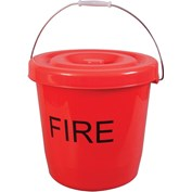 Kampa 15 Litre Plastic Fire Bucket With Lid