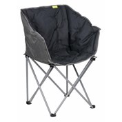 Kampa Padded Tub Chair - Charcoal