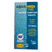 Clean Tabs Aqua Clean Midi Water Purifying Tablets - 32 in a pack