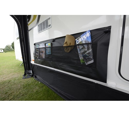 Kampa Limpet Suction Double Axle Wheel Arch Cover - Grey