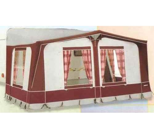 Eurovent Sancerre Full Awning with Fibre Frame Size I - Green