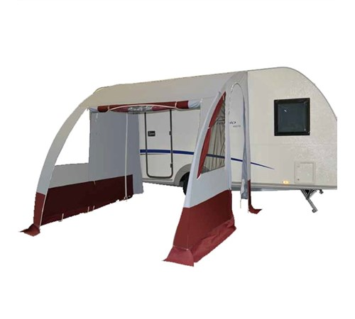 Cabanon Apache Monte-Carlo Porch Awning - Red